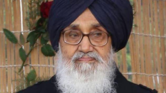 Punjab chief minister Parkash Singh Badal(HT File Photo)
