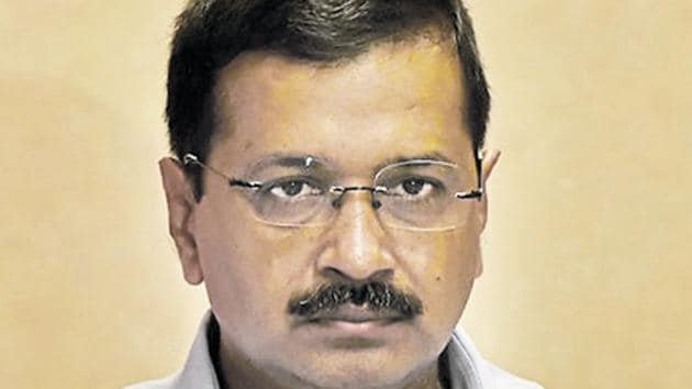 AAP supremo and Delhi chief minister Arvind Kejriwal(HT File Photo)