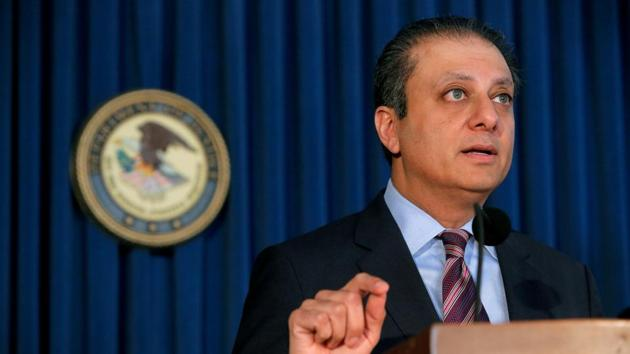 US Attorney for the Southern District of New York Preet Bharara.(Reuters File Photo)