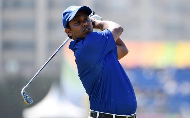 SSP Chawrasia finished T50 at the Rio Olympics in August.(Getty Images)