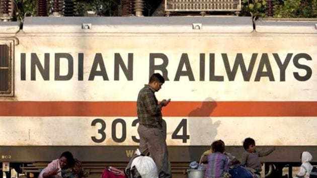 """After pumping in Rs 12,000 crore to build new lines this year, Indian Railways is advocating a """"go slow"""" approach on the infrastructure creation drive.(AFP File Photo)"""