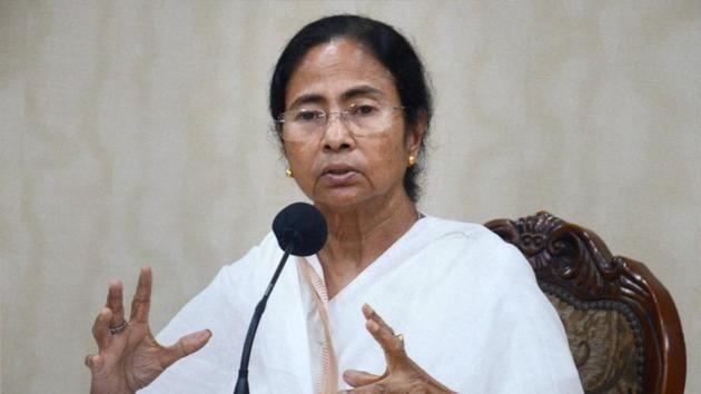 West Bengal chief minister Mamata Banerjee addresses a press conference in Kolkata.(PTI File Photo)