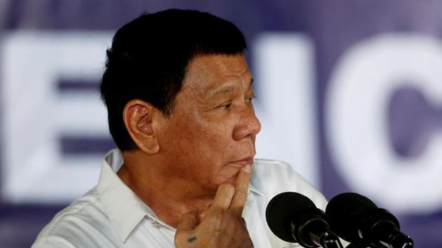"""""""You UN officials, sitting there on your asses, we pay you your salaries. You idiot, do not tell me what to do ... Who gave you the right?"""" - Philippine leader Rodrigo Duterte(REUTERS)"""