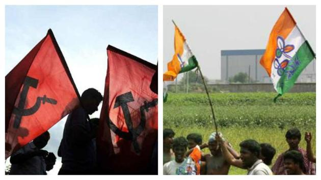 A day after CPI(M)-backed CITU announced it will go for a country-wide demonstrations on January 3, Trinamool Congress chief Mamata Banerjee announced her protest programmes from January 1 to 8.(File photos)