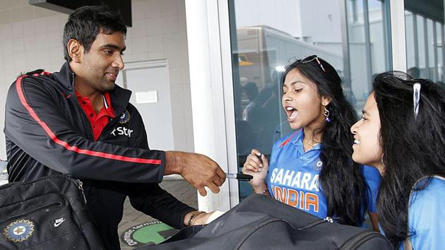Ravichandran Ashwin, who was voted the Cricketer of the Year 2016 by the ICC, started his life as an opening batsman(AFP)