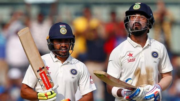 Karun Nair and KL Rahul were both dismissed cheaply during Karnataka's Ranji Trophy match against Tamil Nadu.(REUTERS)