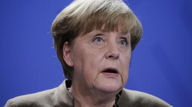 German Chancellor Angela Merkel briefs the media in Berlin, Friday, Dec. 23, 2016, after Anis Amri, the suspect of the terrorist attack on a Christmas market in Berlin was shot in Milan, Italy.(AP)