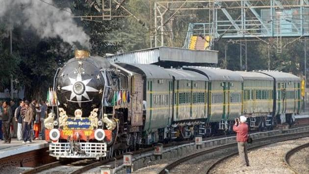 The steam workhorses of the Indian Railways – called black beauties – have mostly been cut up and sold as scrap in past decades.(Live Mint File Photo)