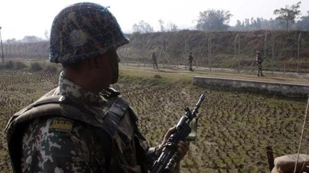 A Muslim man was killed when BSF troopers, while on patrol along the India-Bangladesh border in Tripura, opened fire suspecting him to be a smuggler.(Agency File Photo)