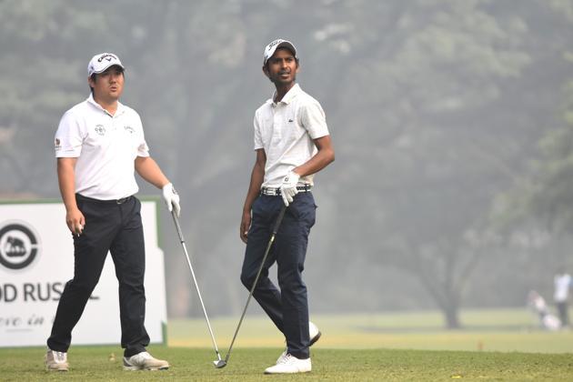 Rashid Khan slipped to second spot as Pariya Junhasavasdikul took the lead in the McLeod Russel Tour Championship.(PGTI)