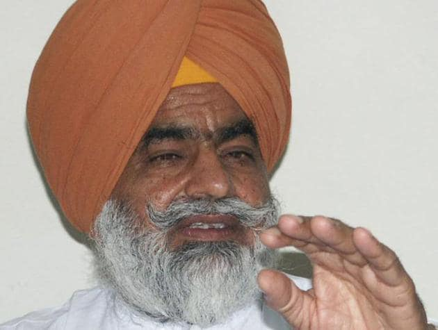 Former state minister Gurchet Bhullar.(HT File Photo)