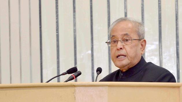 President Pranab Mukherjee has cleared the ordinance for the fifth time.(PTI Photo)