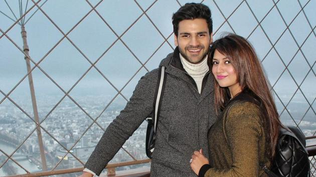Divyanka Tripathi Dahiya and husband actor Vivek Dahiya are currently on their honeymoon in Europe.