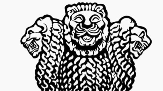 Dinanath Bhargava (89), who designed the lion capitol in the national emblem, died in Indore on Saturday.(Picture courtesy: Wikicommons)