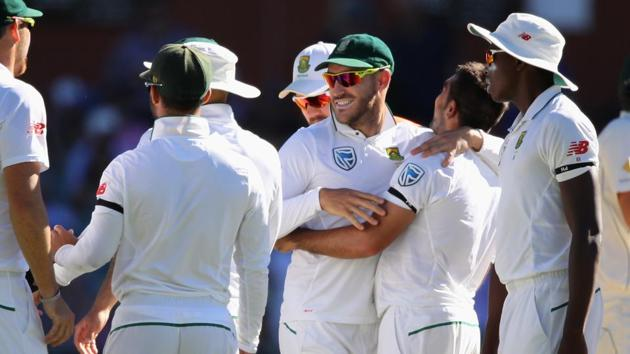 Faf du Plessis will be high on confidence against Sri Lanka after guiding South Africa to a third series win in Australia.(Getty Images)