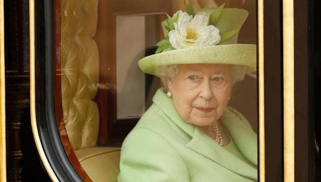 Britain's Queen Elizabeth rides a carriage in central London.(Reuters File)