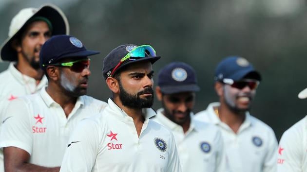 Virat Kohli's wished the fans a Merry Christmas and a Happy New Year by taking up the Mannequin challenge.(BCCI)
