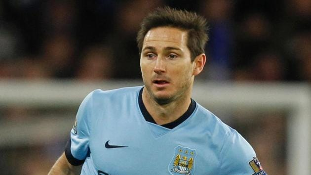Frank Lampard is open to a return to his former club Chelsea FC after his stint with New York City FC.(AFP)