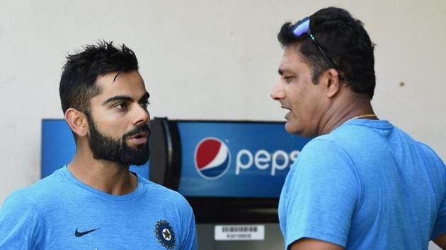 Rahul Dravid praised Indian Test captain Virat Kohli and coach Anil Kumble for supporting the youngsters in Team India.(PTI)