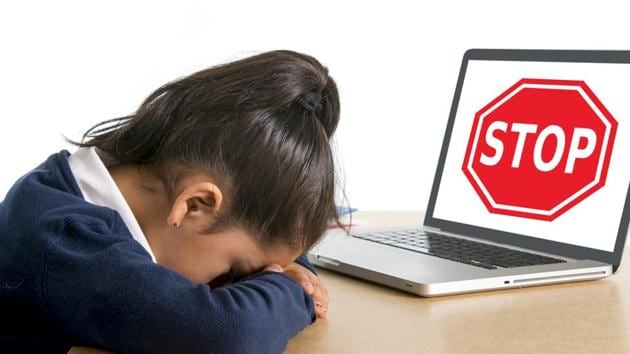 The survey showed that over 35 per cent children have had their accounts hacked while 15.74 per cent shared they had received inappropriate messages.(Shutterstock)