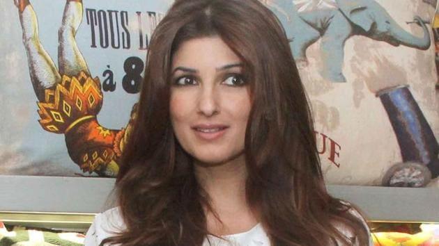 Not one to run away, Twinkle Khanna gave it back to the trolls.(Yogen Shah)