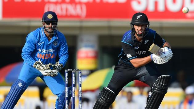 Ross Taylor was dropped by the New Zealand cricket team for their Twenty20 series against Bangladesh.(AFP)
