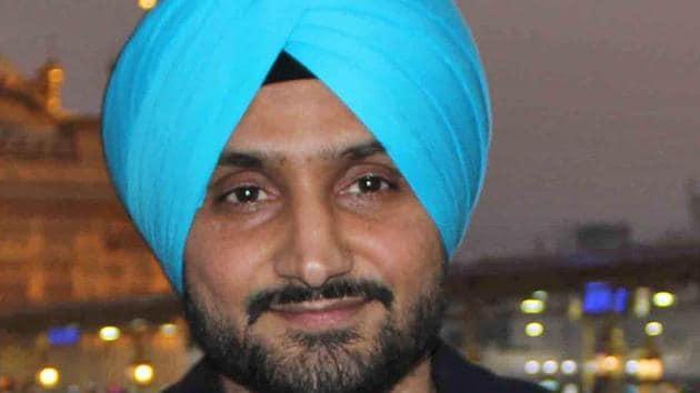 Harbhajan Singh, ace spinner and Padma Shri awardee(HT Photo)