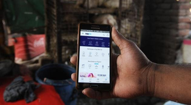With over 1.5 million merchants accepting Paytm today, the company aims to work closely with the merchants by seeking feedback and helping them understand digital payments.(Sunil Ghosh/Hindustan Times)