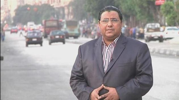 Al Jazeera says it holds Egyptian authorities responsible for Mahmoud Hussein's safety and is calling for his immediate release.(Al Jazeera)