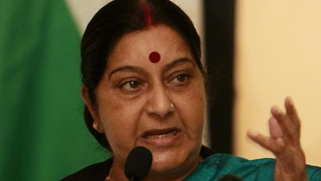 Taking a hard stand ahead of Indian ambassador's meeting with Norway authorities over the custody of the child, external affairs minister Sushma Swaraj on Tuesday said she refuses to accept that foster parents can take better care of the child than natural parents.(AP file photo)