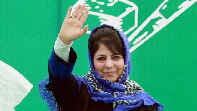 Jammu and Kashmir chief minister Mehbooba Mufti.(PTI File Photo)