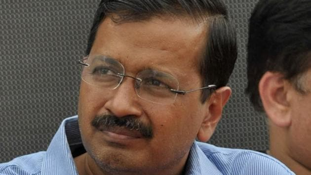 AAP national convener Arvind Kejriwal.(HT File Photo)