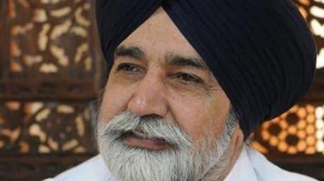 Punjab rural development and panchayats minister Sikander Singh Maluka.(HT File)