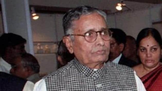 BJP veteran and former MP chief minister Sunderlal Patwa passed away at 92.(PTI)
