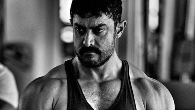 Aamir Khan plays Mahavir Singh Phogat in Dangal.
