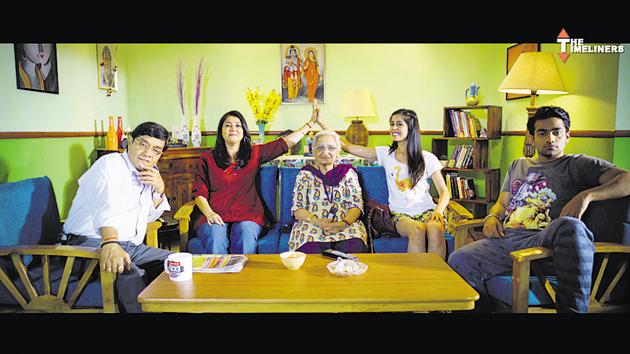A still from The Aam Aadmi Family