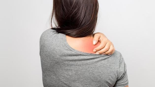 Scientists say that shoulder problems need not just be because of physical strain.(Shutterstock)