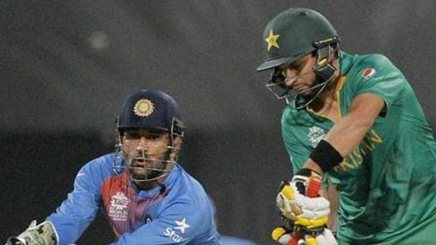 Pakistan Cricket Board chief Shahryar Khan made it clear that there is 'no chance' of a cricket series against India till political ties between the two countries improve.(AP)