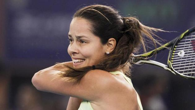 Ana Ivanovic announced her retirement from tennis at the age of 29.(HT Photo)