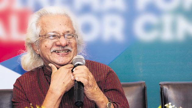 Film director Adoor Gopalakrishnan has criticised the selection procedure for National Film Awards.(Samir Jana/HT Photo)