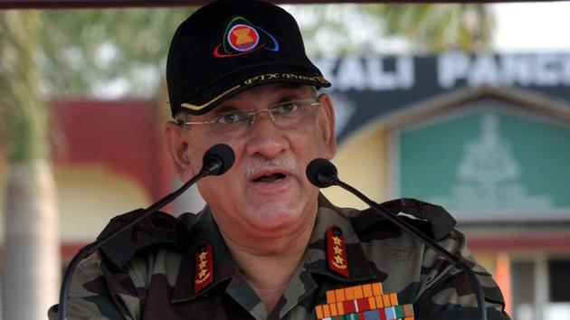 The government superseded two generals to elevate Gen Bipin Rawat to the army chief's post, sparking a debate over whether seniority or merit should determine top military appointments.(HT File Photo)
