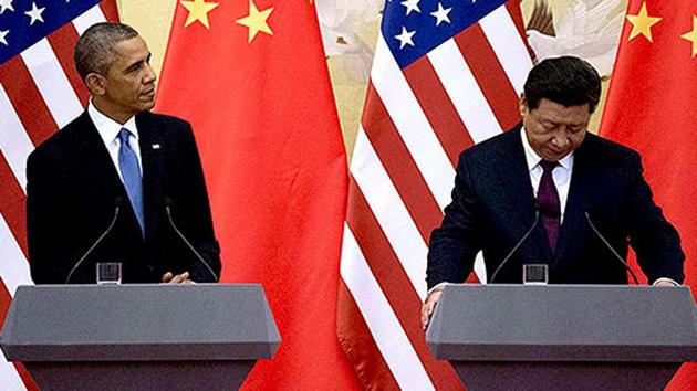 On Obama's watch, China, in less than three years, built seven islands in the South China Sea.(AP Photo)