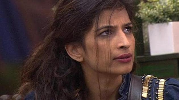 """Priyanka Jagga thrown out of the show, in a melodramatic and eventful episode on this Saturday, when host Salman Khan asked her to leave """"his house"""".(Colors)"""