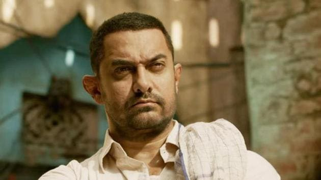 Aamir Khan's Dangal is based on ex-wrestler, Mahavir Singh Phogat's life.(HT Photo)