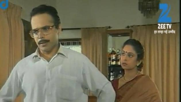 Harsh Chhaya and Shefali Shah played the roles of KT and Savi in Hasratein.(Ozee)