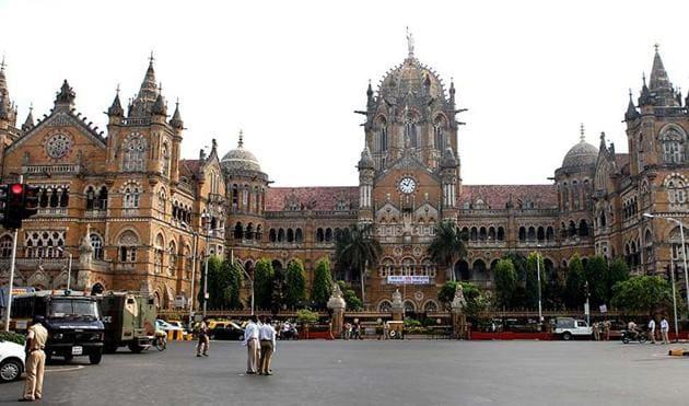 A file photo Chhatrapati Shivaji Terminus (CST) railway station, Mumbai. (Kalpak Pathak/HT photo)