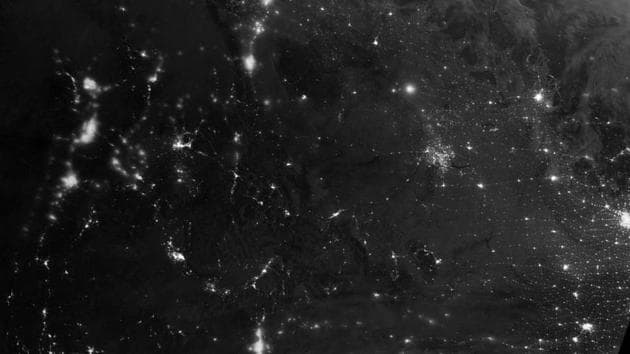 The northern lights stretched across British Columbia, Alberta, Saskatchewan, Manitoba, Nunavut and Northwest Territories, areas that often fall under the auroral oval.(Photo: Nasa)