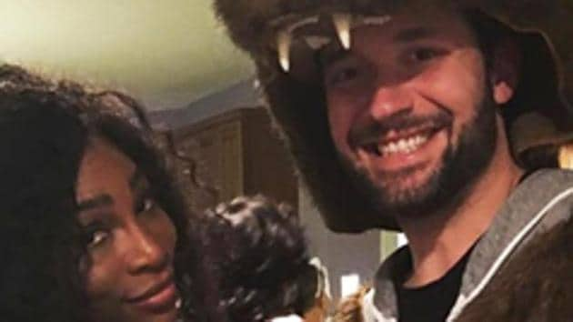 Serena Williams has announced her engagement to Reddit co-founder Alexis Ohanian.(Twitter @WTA)