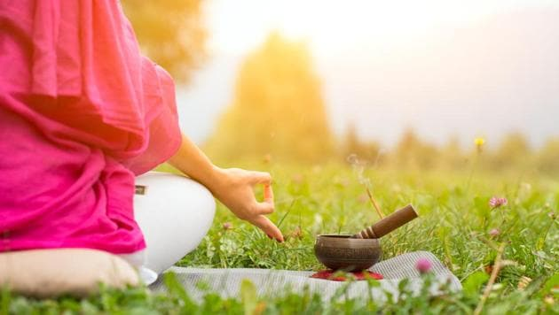 Meditation can help balance the negative effects of your inherent dosha.(Shutterstock)