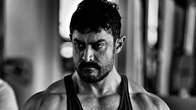 Aamir Khan plays wrestler Mahavir Singh Phogat in Dangal.